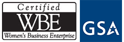 WBE and GSA Logo