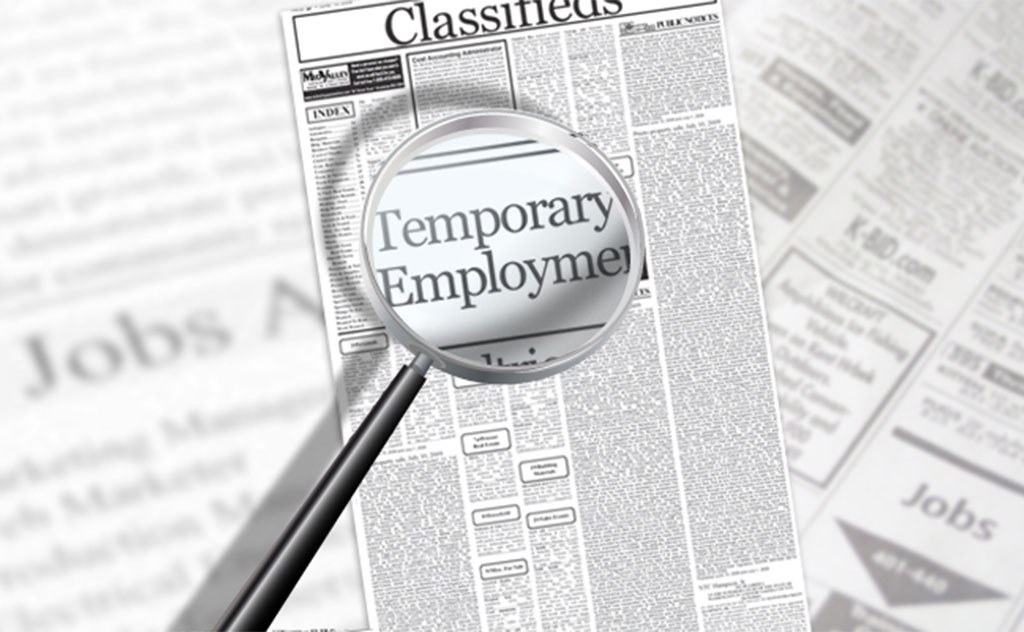 How can Connect Resources help you with temporary work